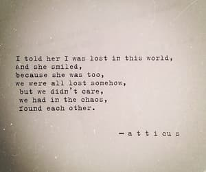 atticus, lost, and love image