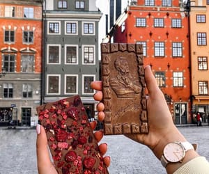 chocolate and town image