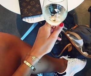 luxury, adidas, and nails image