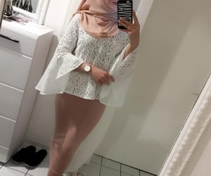 classy, fashion, and hijab image