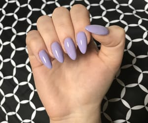 almond, nails, and pastel image