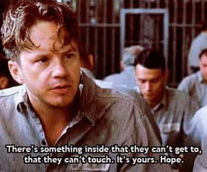 hope, quotes, and shawshank redemption image
