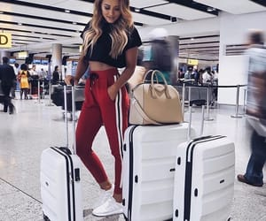 travel, style, and hair image
