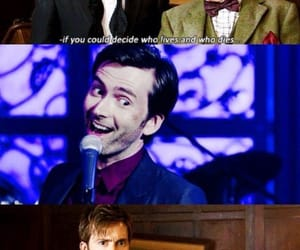doctor who, Marvel, and tenth doctor image