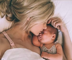 baby, mama, and mom image