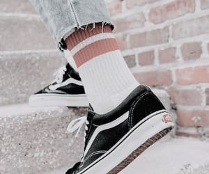 shoes, vans, and aesthetic image