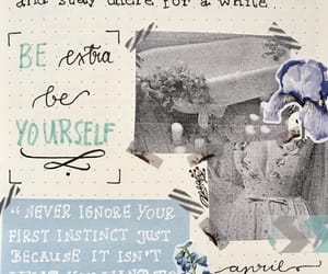 dashboard, flowers, and journaling image