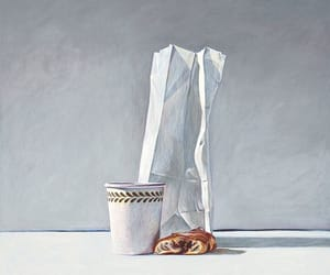 art and breakfast image