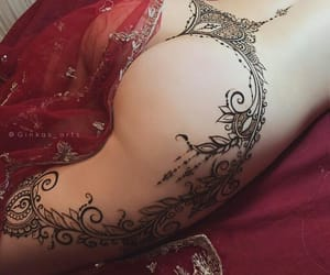 beautiful, girl, and indian image