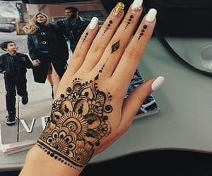 hands, indian, and tumblr image