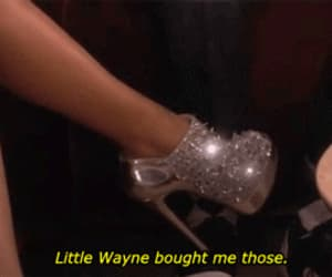 shoes, lil wayne, and glitter image