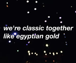 classic, egyptian, and gold image