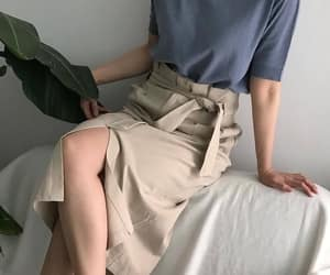 clothes, korean fashion, and outfit image