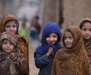 smile, child, and hijab image