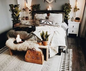 decoration, bedroom, and room image