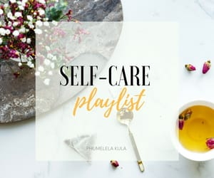 music, article, and self love image