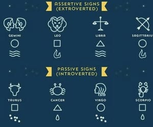active, astrology, and Leo image