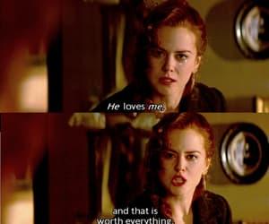 love, moulin rouge, and Nicole Kidman image