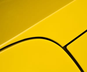 abstract photography, cars, and yellow image