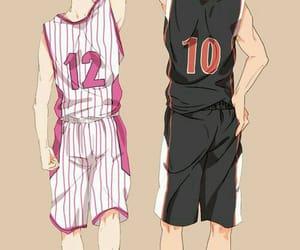 kuroko no basket, kagami taiga, and himuro tatsuya image