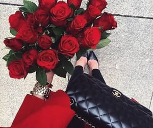 fashion, flowers, and rose image