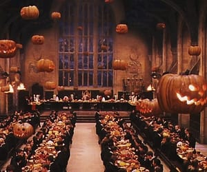 Halloween, hogwarts, and harry potter image