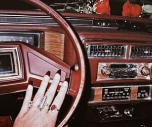 car, vintage, and aesthetic image