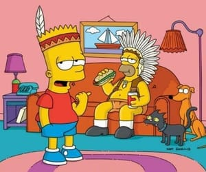 bart simpson, homer simpson, and the simpsons image