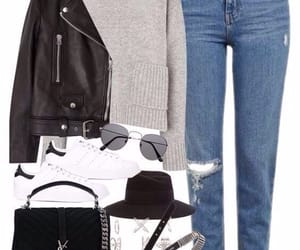 beautiful, girl, and jacket image