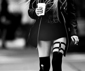 black and white, Taylor Momsen, and style image