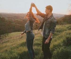 couple, beautiful, and goals image
