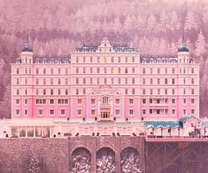 pink, movie, and hotel image