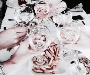 brunch, champagne, and wine image