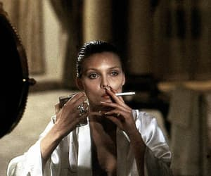 scarface, michelle pfeiffer, and smoking image