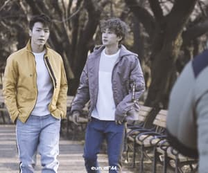 donghae, eunhyuk, and gif image