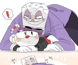 game, twister, and cuphead image