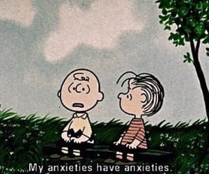 anxiety and cartoon image