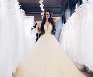 dress, girl, and beautiful image