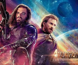 infinity war, Avengers, and captain america image