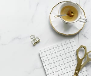 cup, tea, and decor image