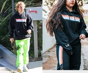 hoodie, justin bieber, and male clothing image