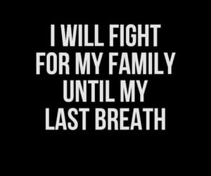 quotes, family, and fight image