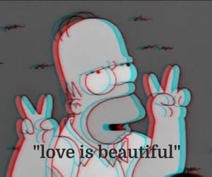 love and simpsons image