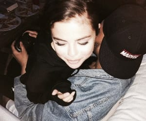 selena gomez, couple, and the weeknd image