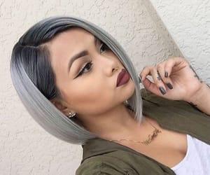 cabelo, hair, and maquiagem image