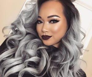 cabelo, make up, and hair image