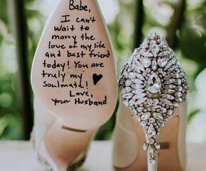 idea, shoes, and wedding image