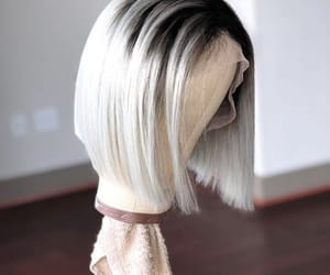 bob, platinum, and wigs image