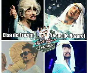 donghae, super junior, and funny image