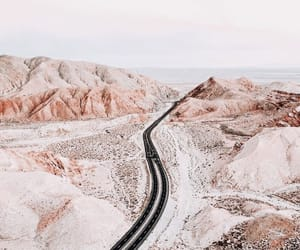 adventure, road, and mountains image